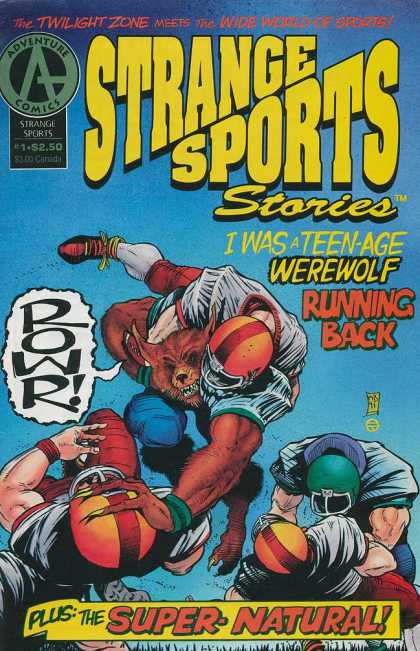 Strange Sports Stories 1 - Adventure Comics - Werewolf - Bronze Age - Supernatural - Football - Nick Cardy