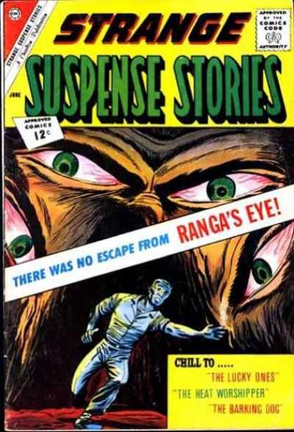 Strange Suspense Stories 59 - Rangas Eye - The Lucky Ones - The Heat Worshipper - The Barking Dog - Green Eyes