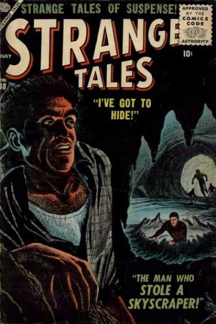 Strange Tales 48 - Suspense - Hide - Skyscraper - Cave - The Man Who Stole