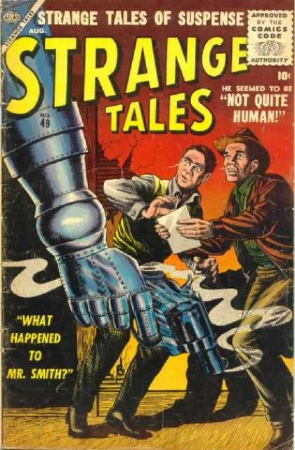 Strange Tales 49 - Bill Everett