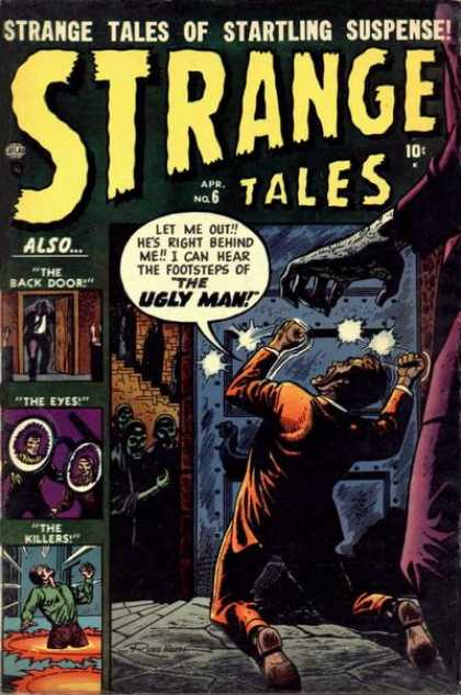 Strange Tales 6 - Ugly Man - Back Door - Eyes - Killers - Footsteps - Kevin Nowlan
