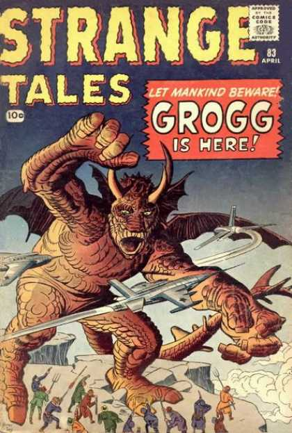 Strange Tales 83 - Airplanes - Mob - Pitchforks - Cliff - Grogg Is Here