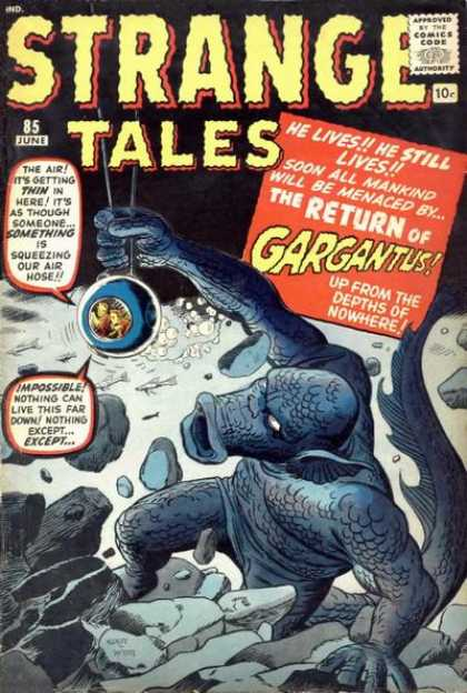 Strange Tales 85 - Strange Tales - The Return Of Gargantus - He Still Lives - Under Water - From The Depths Of Nowhere