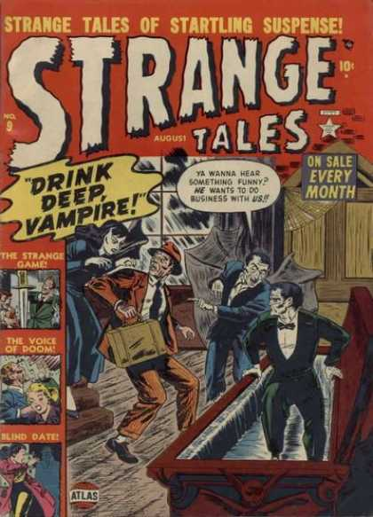 Strange Tales 9 - Carl Potts