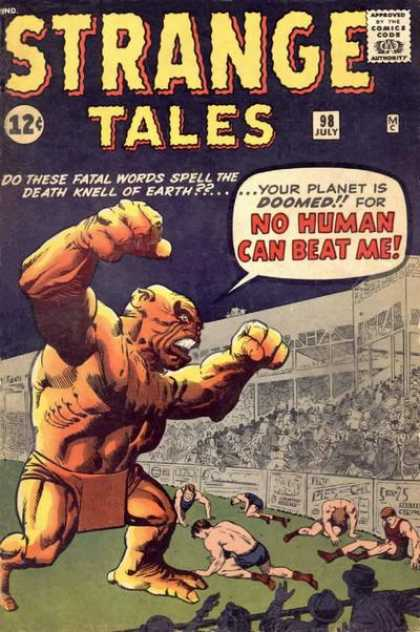 Strange Tales 98 - Planet - Doomed - Fatal Words - Earth - Death Knell