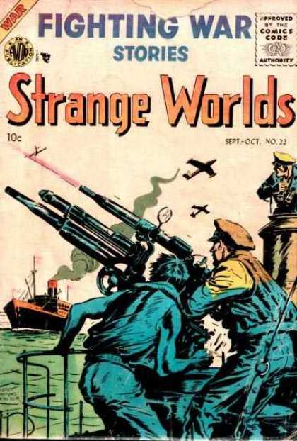 Strange Worlds 22 - Fighting War - War - Strange Worlds - Action - Fighting
