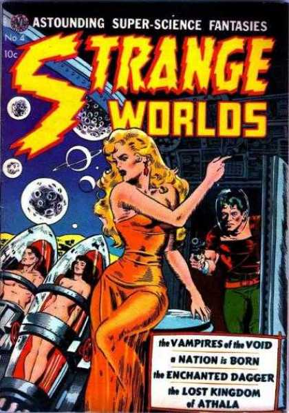Strange Worlds 4 - Astounding - Vampires - Void - Nation - Kingdom - Jack Kirby