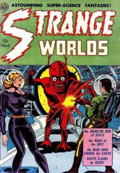Strange Worlds 6 - Alien - Monster - Space - Enemy - Death