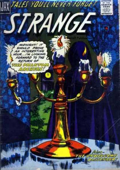 Strange 3 - Ajax - Approved By The Comics Code - Tales Youll Never Forget - Candle - The Phantom Archers