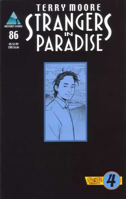 Strangers in Paradise 86 - Terry Moore - Abstacts Studio - 86 - Us 299 - 4 - Brian Miller