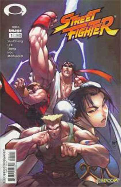 Street Fighter 1 - Jo Chen, Joe Madureira