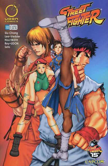 Street Fighter 10 - Veeder Hou - M3th Rey - Udon Seto - Slu-chong Lee - Capcom