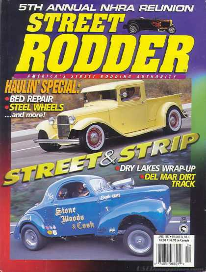 Street Rodder - April 1997