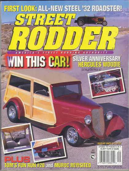 Street Rodder - September 1997