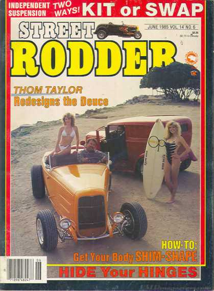 Street Rodder - June 1985