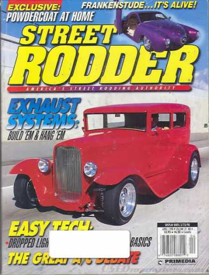 Street Rodder - April 1998