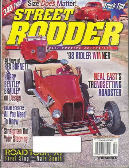 Street Rodder - September 1998