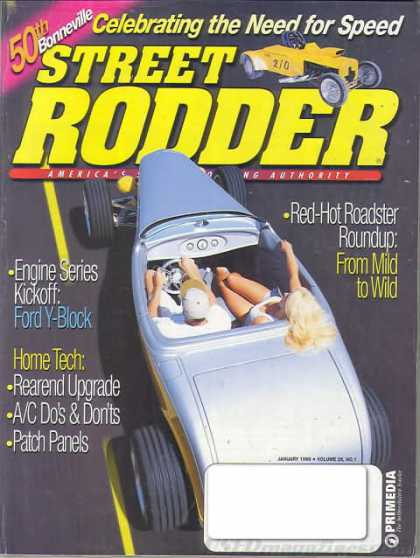 Street Rodder - January 1999