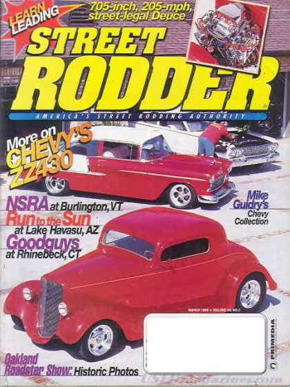 Street Rodder - March 1999