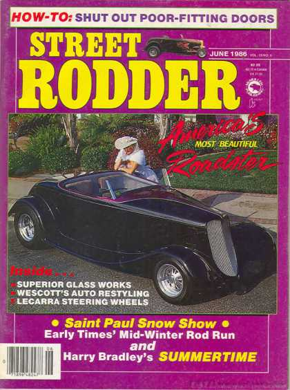 Street Rodder - June 1986