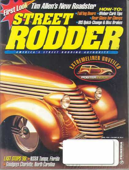 Street Rodder - April 1999