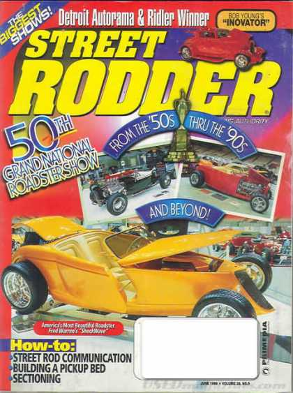 Street Rodder - June 1999
