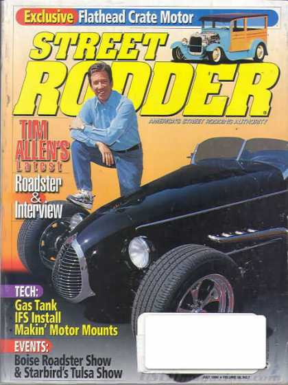 Street Rodder - July 1999