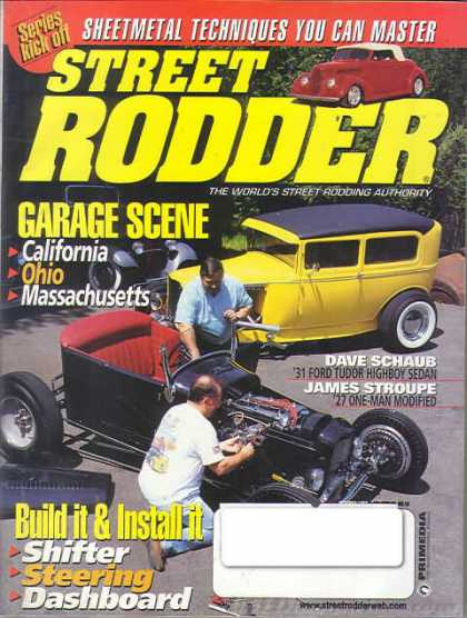 Street Rodder - October 1999
