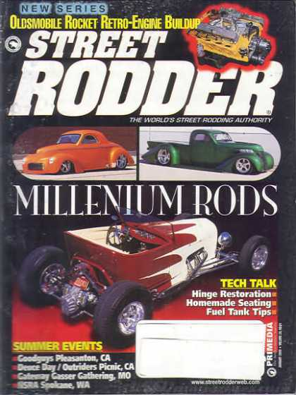 Street Rodder - January 2000