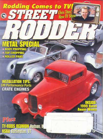 Street Rodder - April 2000