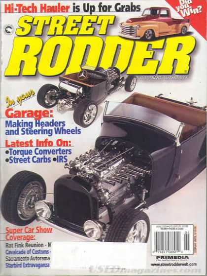 Street Rodder - June 2000