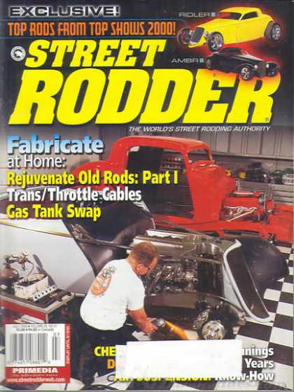 Street Rodder - July 2000