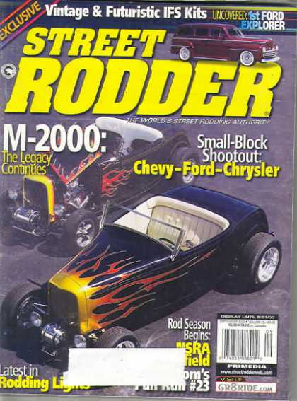 Street Rodder - September 2000