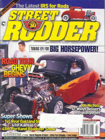Street Rodder - July 2001
