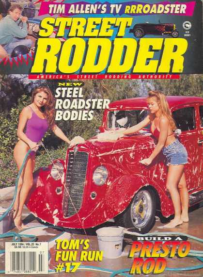 Street Rodder - July 1994