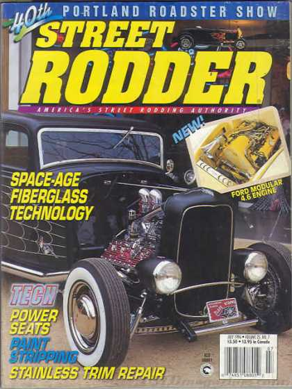 Street Rodder - July 1996
