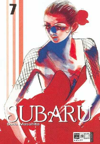 Subaru 7 - Woman - Red Dress - Spanish - Dancer - Flower