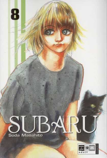 Subaru 8 - Black Cat - Magic - Wide Eyed - Blonde Hair - Woman
