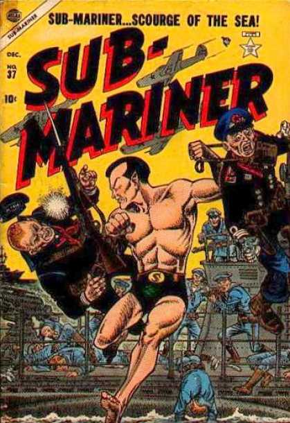 Submariner 37 - Scourge Of The Sea - Airplane - Gun - Navy - Ship
