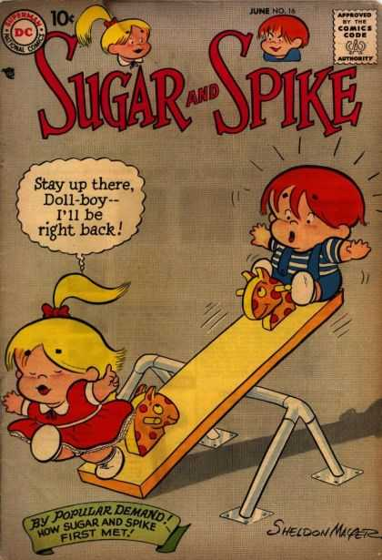 Sugar and Spike 16 - Spike - Doll-boy - See-saw