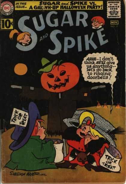Sugar and Spike 37 - Full Moon - Dc - Pumkin Head - Hat - Candy