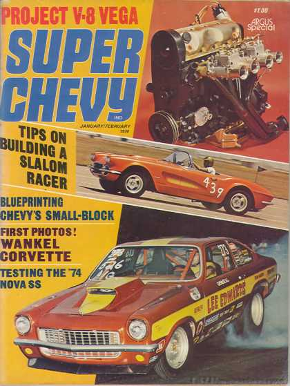 Super Chevy - January 1974