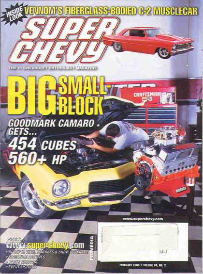 Super Chevy - February 2005