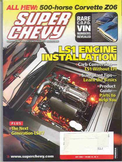 Super Chevy - May 2005
