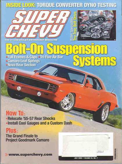 Super Chevy - July 2005