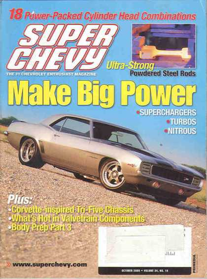 Super Chevy - October 2005