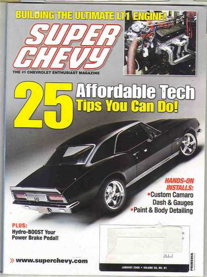 Super Chevy - January 2006