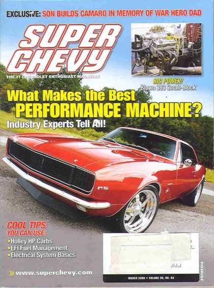 Super Chevy - March 2006