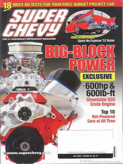 Super Chevy - July 2006