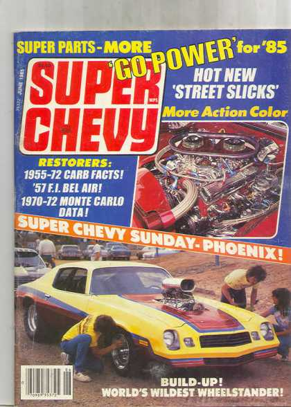 Super Chevy - June 1985